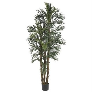 Nearly Natural 5284 6 ft. Robellini Palm Silk Tree