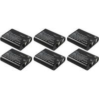 Replacement Panasonic KX-TG2267B NiCD Cordless Phone Battery (6 Pack)