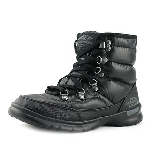 The North Face Thermoball Lace II Women  Round Toe Synthetic Black Winter Boot