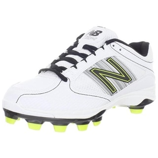 New Balance Womens Leather Contrast Trim Cleats