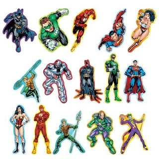 DC Comics Justice League Jumbo Stickers Set of 15
