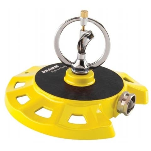 Dramm Corporation 10-15073 Yellow ColorStorm Spinning Sprinkler