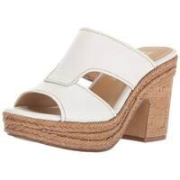 Naturalizer Womens evette Open Toe Casual Slide Sandals