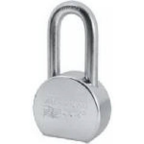"American Lock Round Keyed Alike Solid Steel Lock, 2-1/2"""
