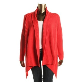 Lauren Ralph Lauren Womens Cardigan Sweater Knit Open Front