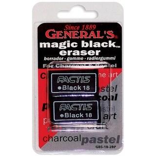Magic Black Erasers 2/Pkg-