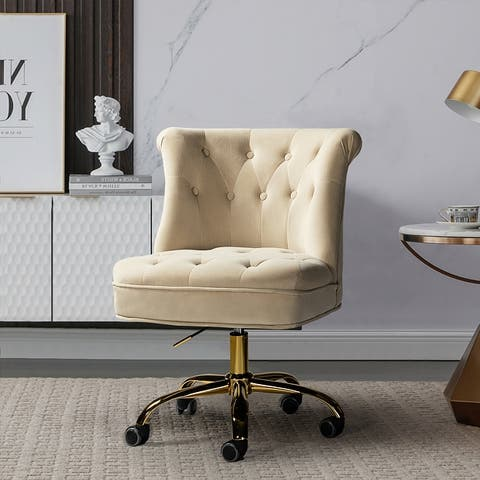 Byrsa Task Chair with Tufted Back for Office