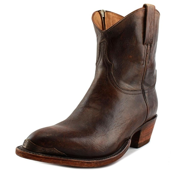 Lucchese Ava Women Pointed Toe Leather Brown Western Boot