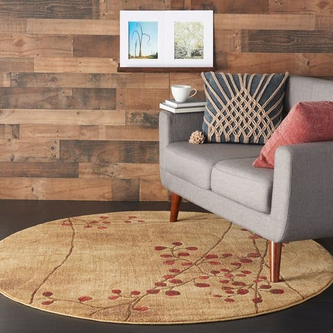 Copper Grove Oxford Floral Area Rug
