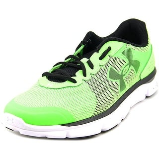 Under Armour Micro G Speed Swift Men Round Toe Synthetic Green Running Shoe