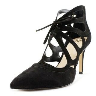 Vince Camuto Ballana   Open Toe Leather  Platform Heel