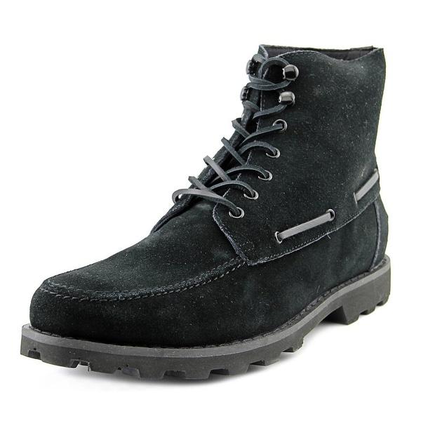 Generic Surplus M Mojave Men  Round Toe Suede Black Boot