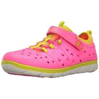 Kids Stride Rite Girls Phibian Rubber Low Top Water Shoes