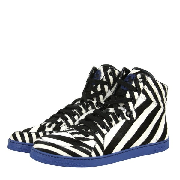 Multi-Color Zebra Print Calf Hair High