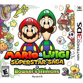 Mario & Luigi Superstar Saga + Bowser's Minions 3DS
