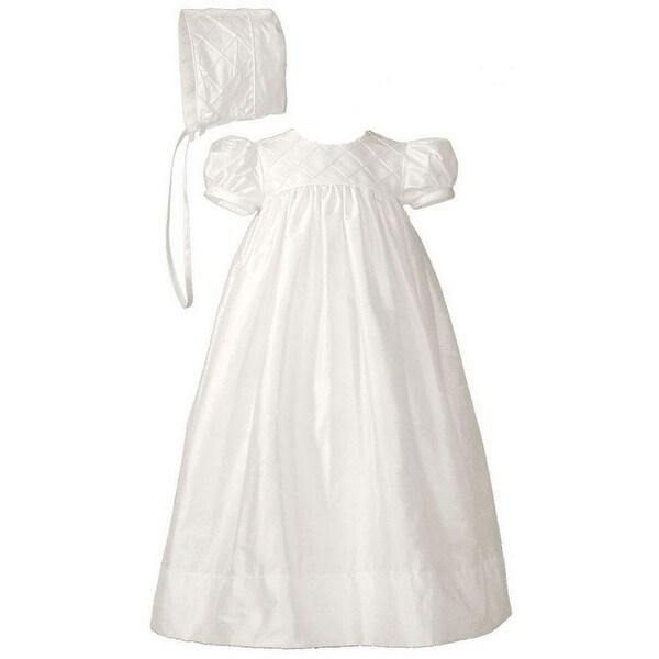 Baptism White Dress Small Infant Toddler Girls Christening Medium