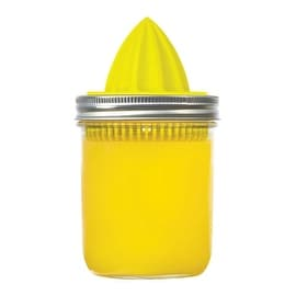 Jarware 82617 Wide Mouth Juicer Lid, Yellow