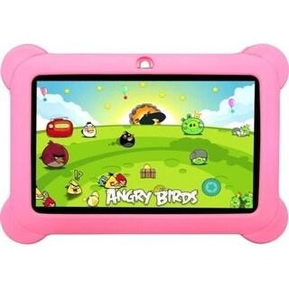 Worryfree Gadgets Kidszeepad-Pnk Zeepad 7 Inch 4Gb Android 4.4 Kitkat Pink Kids Tablet