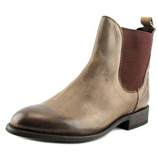 Independent Boot Company Mansfield   Round Toe Leather  Ankle Boot