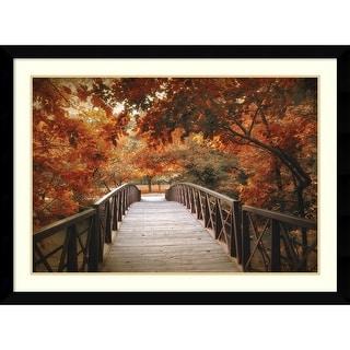 Link to Framed Art Print 'Footbridge' by Jessica Jenney 43 x 32-inch Similar Items in Art Prints