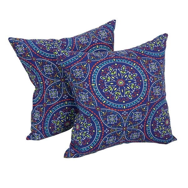 17-inch Square Polyester Outdoor Throw Pillows (Set of 2). Opens flyout.
