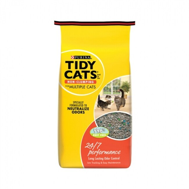 Purina 10711 Tidy Cats 24/7 Performance Conventional Cat Litter, 10 Lb
