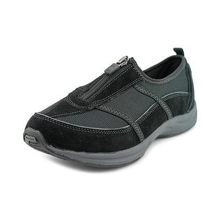 Easy Spirit Amore Women Round Toe Suede Black Walking Shoe
