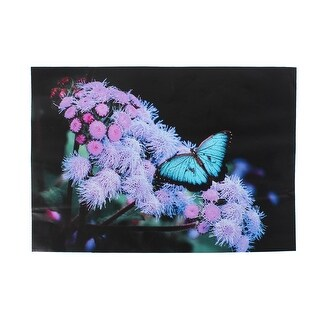 Flower Butterfly Pattern Self-adhesive Decal Sticker Decor for PC Laptop