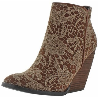 Very Volatile Ophelia Women's Ankle Lace Booties