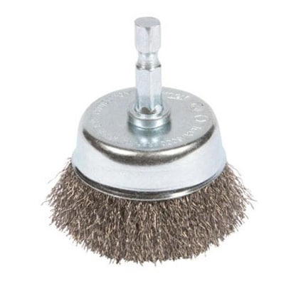 Forney 72729 Coarse Wire Crimped Cup Brush, 2""