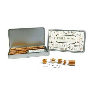 Cavallini & Co. - Rubber Stamp Set - Alphabet