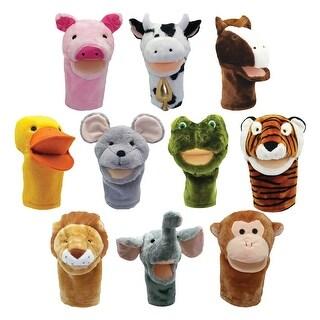 Plushpups Hand Puppets Set Of 10