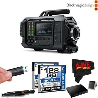 Blackmagic Design CINEURSA4K/PL URSA 4K v1 Digital Cinema Camera (PL Mount) + SanDisk Extreme PRO CFast 2.0 Reader/Writer Bundle