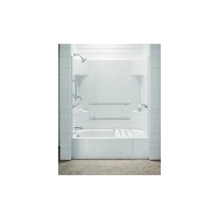 "Sterling 71140115  Accord, Series 7114, 60"" x 30"" x 72"" ADA Tile Bath/Shower - Left-hand Drain"