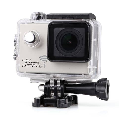 4K Extreme Definition Action Camera Waterproof DV 60fps silver