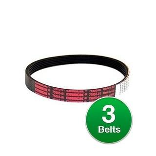 Original Vacuum Belt for Oreck 75855-01 / 7585501 Belt Models (3 Pack)