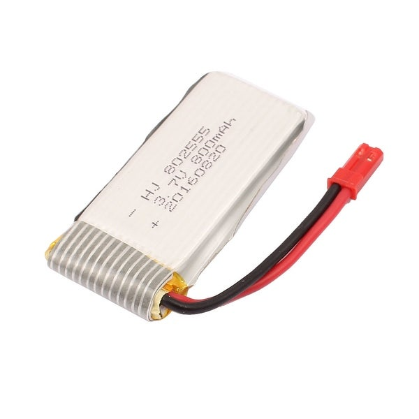 3.7V 800mAh Charging Lithium Polymer Li-po Battery JST-2P for RC Aircraft