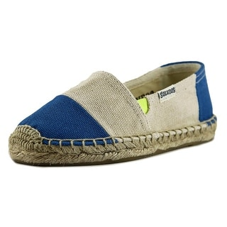 Soludos Original Espadrille Youth Round Toe Canvas Tan Espadrille