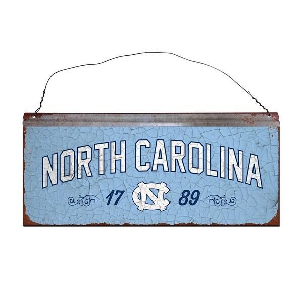 University of North Carolina Small Tin Sign