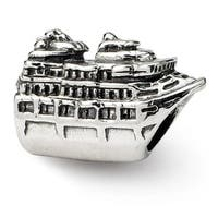 Sterling Silver Reflections Cruise Ship Bead (4mm Diameter Hole)