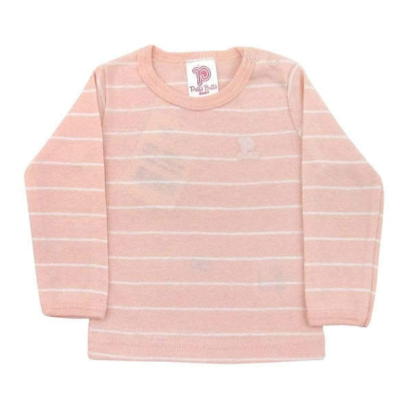 Baby Shirt Unisex Infants Striped Long Sleeve Tee Pulla Bulla Sizes 0-18 Months