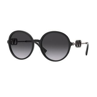 Link to Valentino VA4075 50018G 57 Black Woman Round Sunglasses Similar Items in Women's Sunglasses