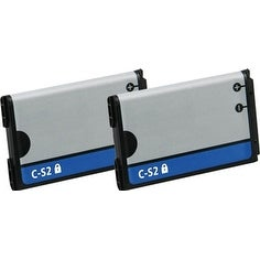 Replacement Battery C-S2 for Blackberry 7100R / 8700 Phone Models (2 Pk)