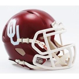 Oklahoma Sooners Riddell Speed Mini Football Helmet