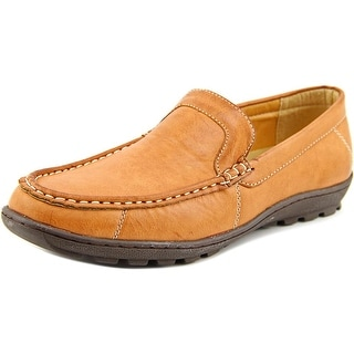 Red Label By Giovanni Kent Men  Moc Toe Synthetic Tan Loafer