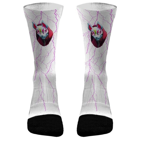 a1ed768ea15 Shop Fortnite Drift Athletic Compression Socks - Free Shipping On Orders  Over  45 - Overstock - 22484599