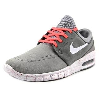 Nike Stefan Janoski Max L Women Round Toe Synthetic Gray Sneakers