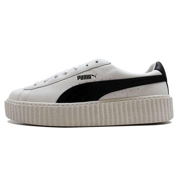 puma creeper white leather