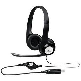 Logitech 981-000014 Over-The-Head Binaural Usb Headset H390