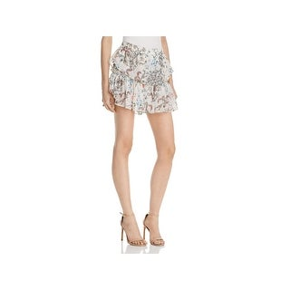 WAYF Womens Freya Mini Skirt Chiffon Floral Print (4 options available)